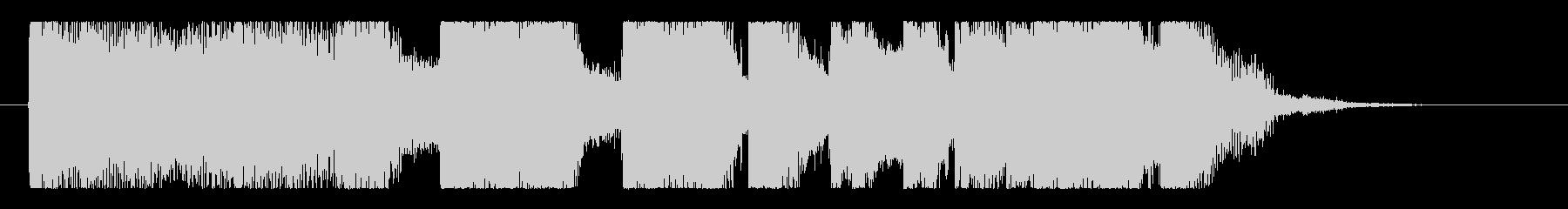 ど迫力!骨太ロックの重低音ロゴ!の未再生の波形