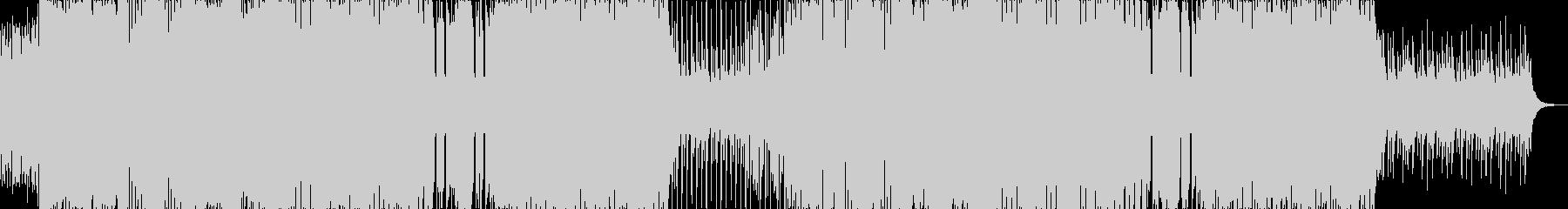 暗い鈍重な雰囲気の闇ダブステップEDMの未再生の波形