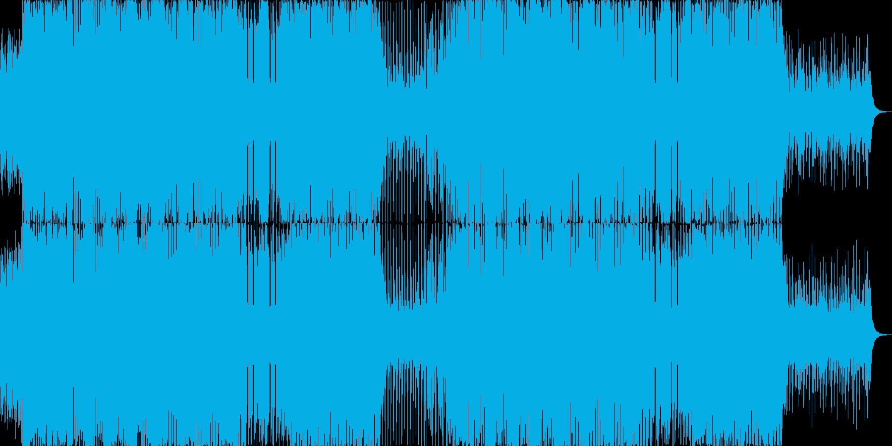 暗い鈍重な雰囲気の闇ダブステップEDMの再生済みの波形