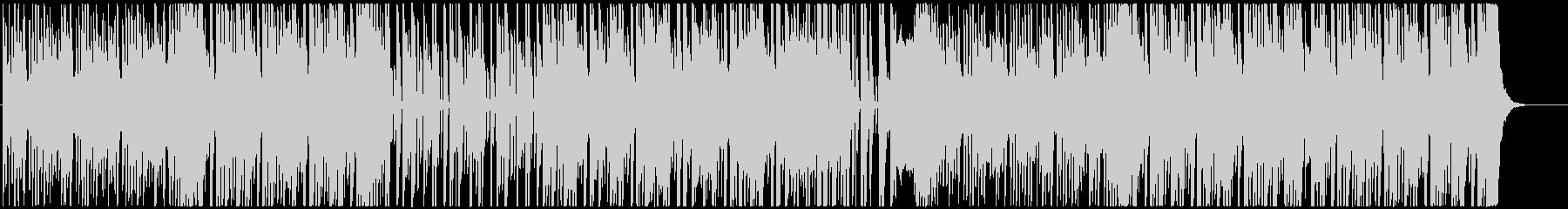 8bit chiptune R&Bの未再生の波形