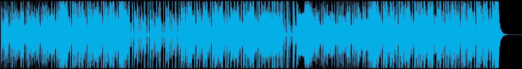 8bit chiptune R&Bの再生済みの波形
