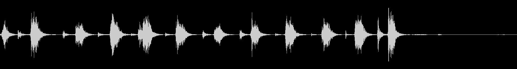 KARATEclass_叫び声とG...の未再生の波形