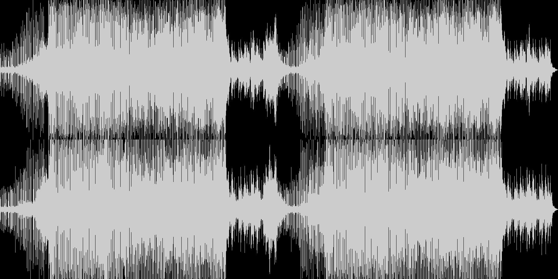 明るくファンキーなシンセポップスの未再生の波形