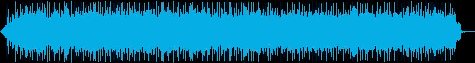 和風の情熱的なロックの再生済みの波形
