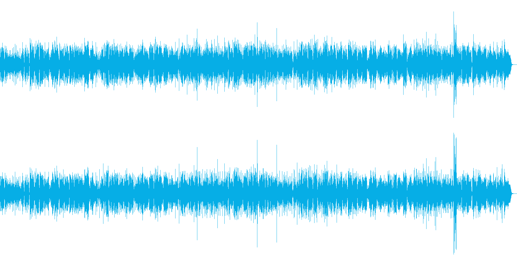 大人の雰囲気のジャズの再生済みの波形