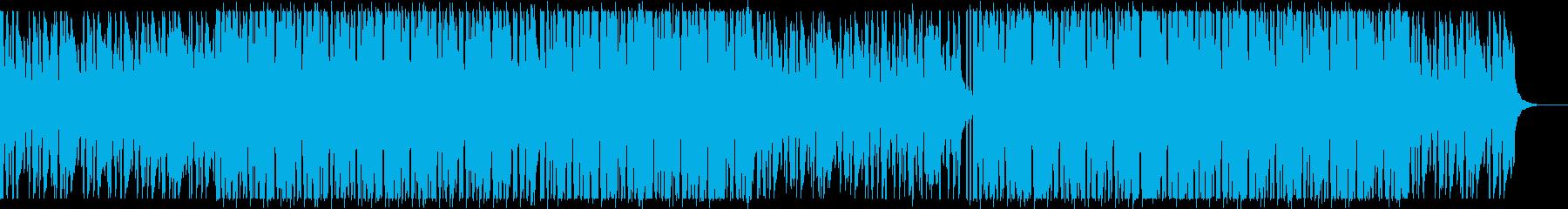 大人な雰囲気のピアノダンスポップの再生済みの波形