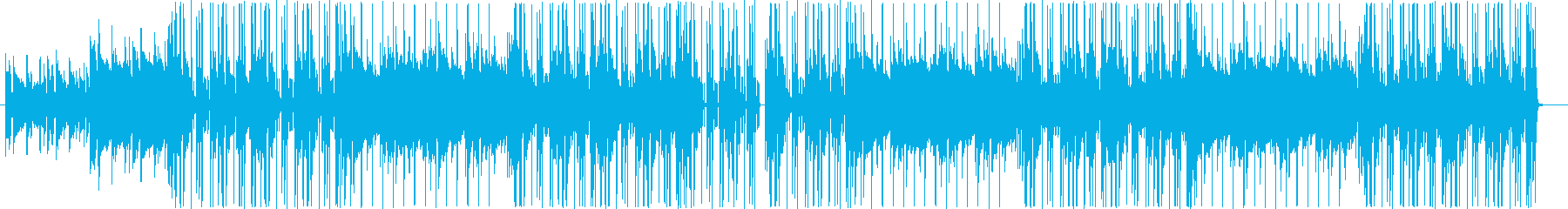 クールなギターヒップホップトラック♪の再生済みの波形