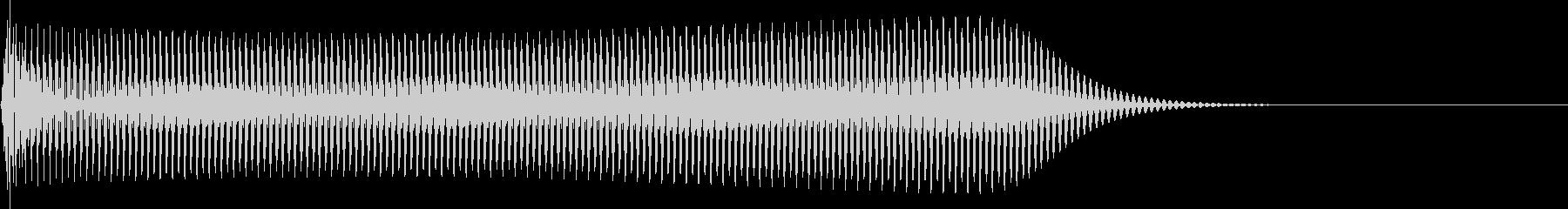 選択音 決定音 シンプル A05の未再生の波形