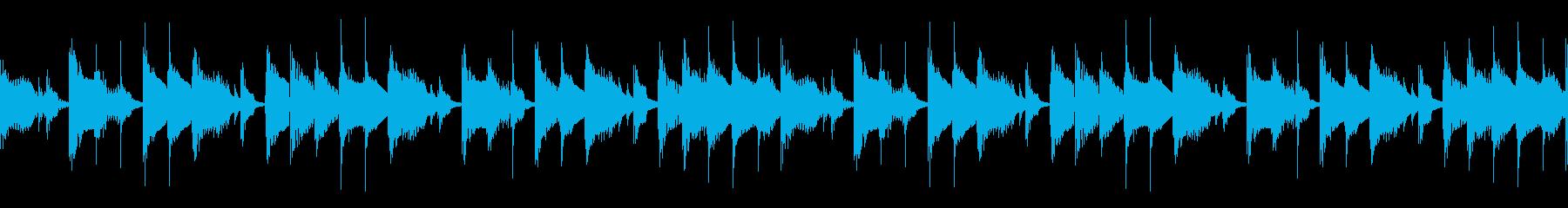 ノロノロな雰囲気のBGM ループ仕様#2の再生済みの波形