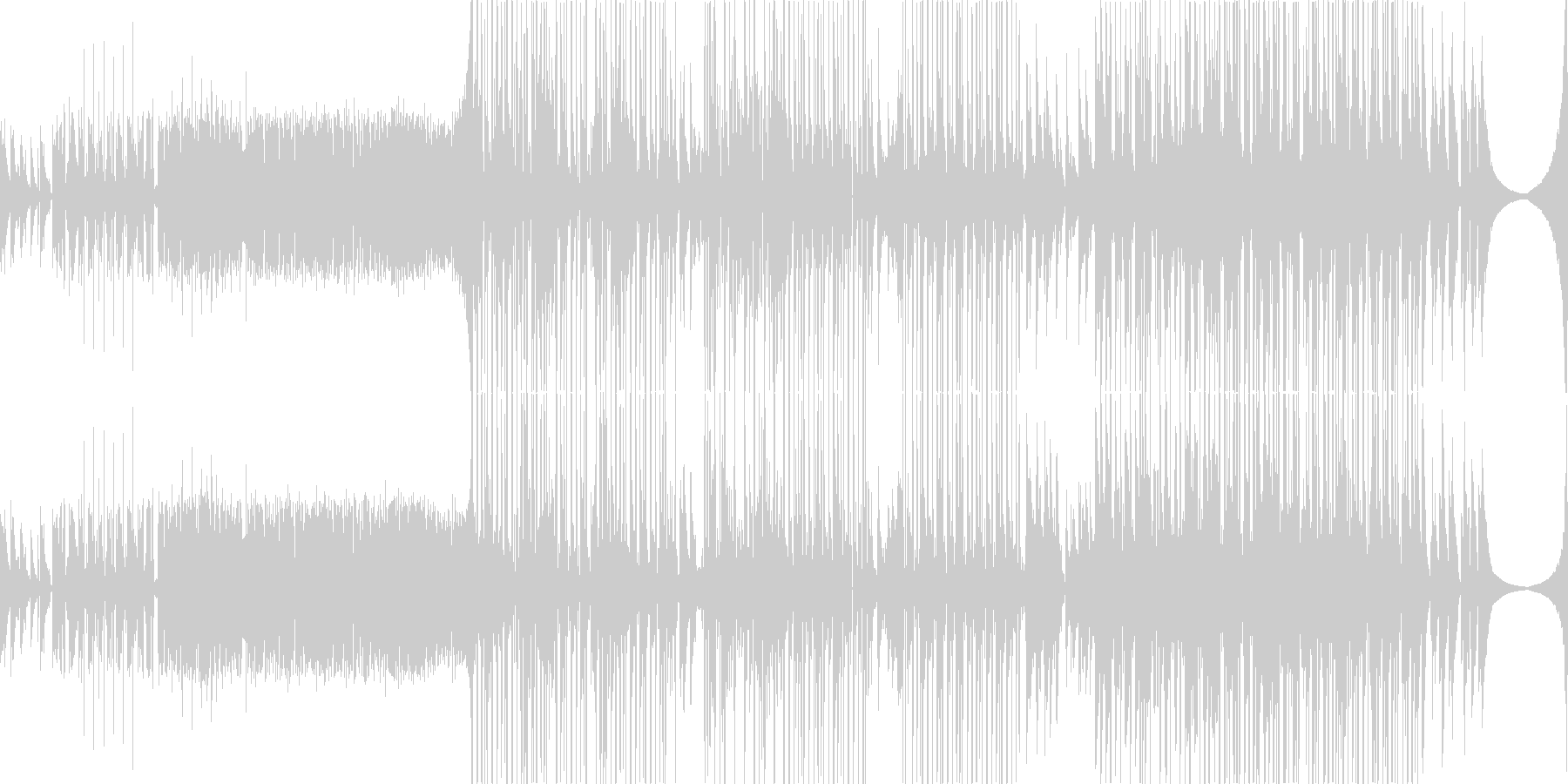 Bitterの未再生の波形