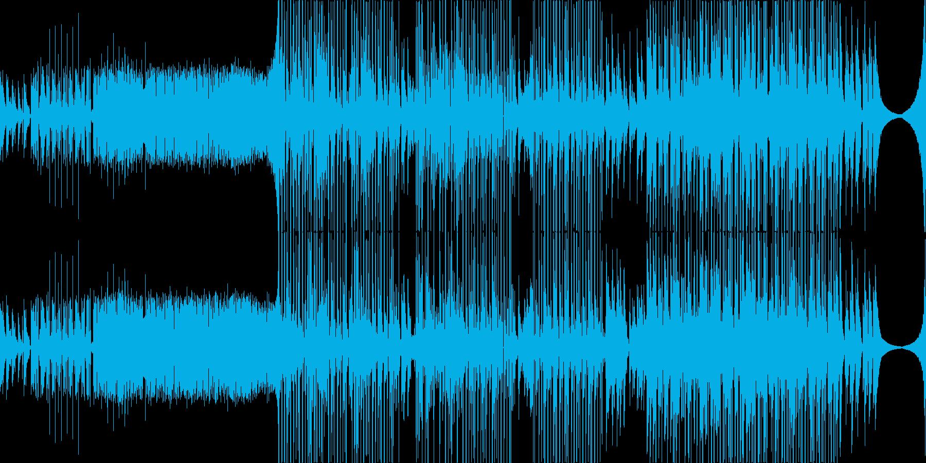 Bitterの再生済みの波形