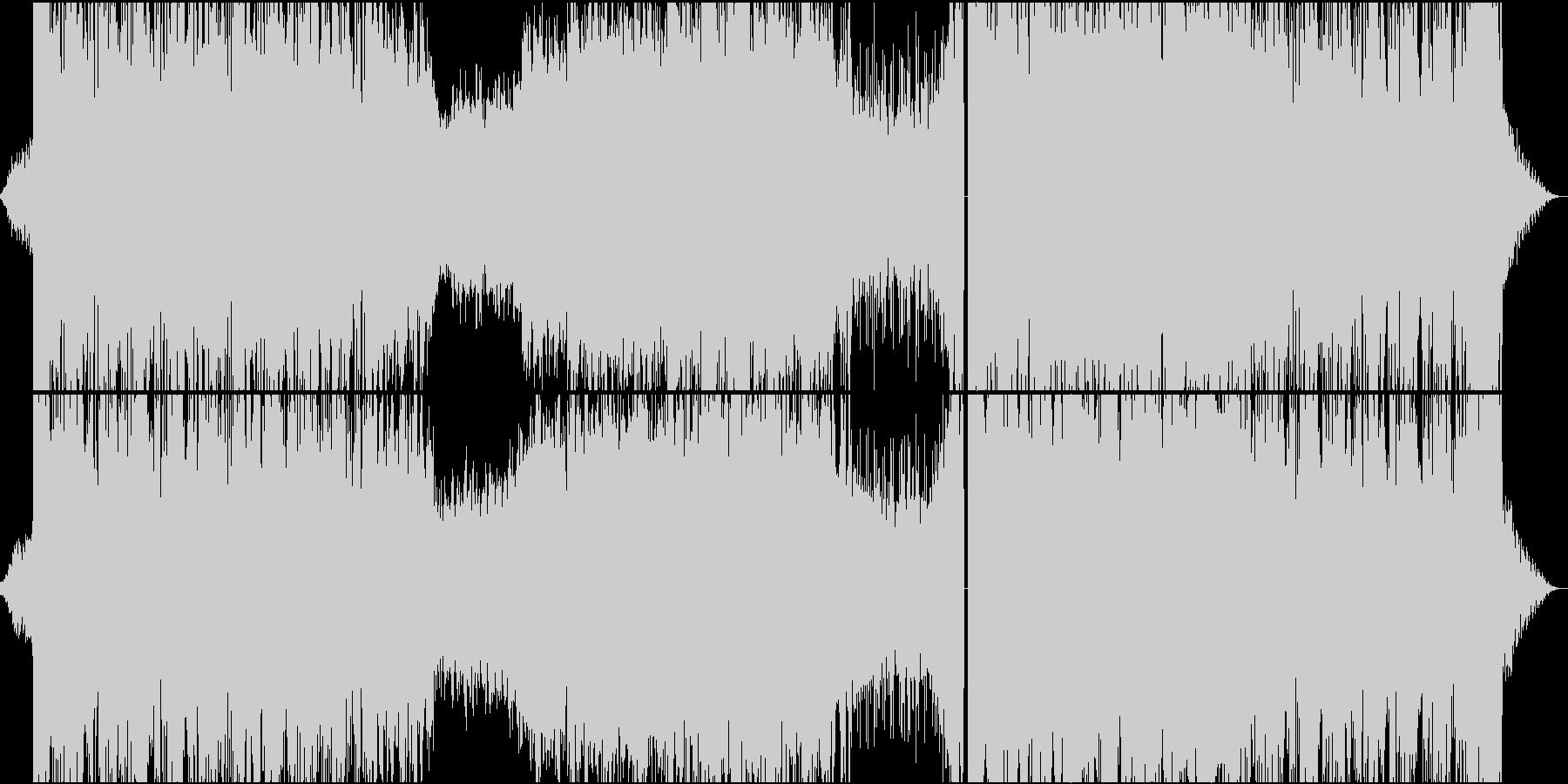 暗いシンセサイザーの不吉なスチームパンクの未再生の波形