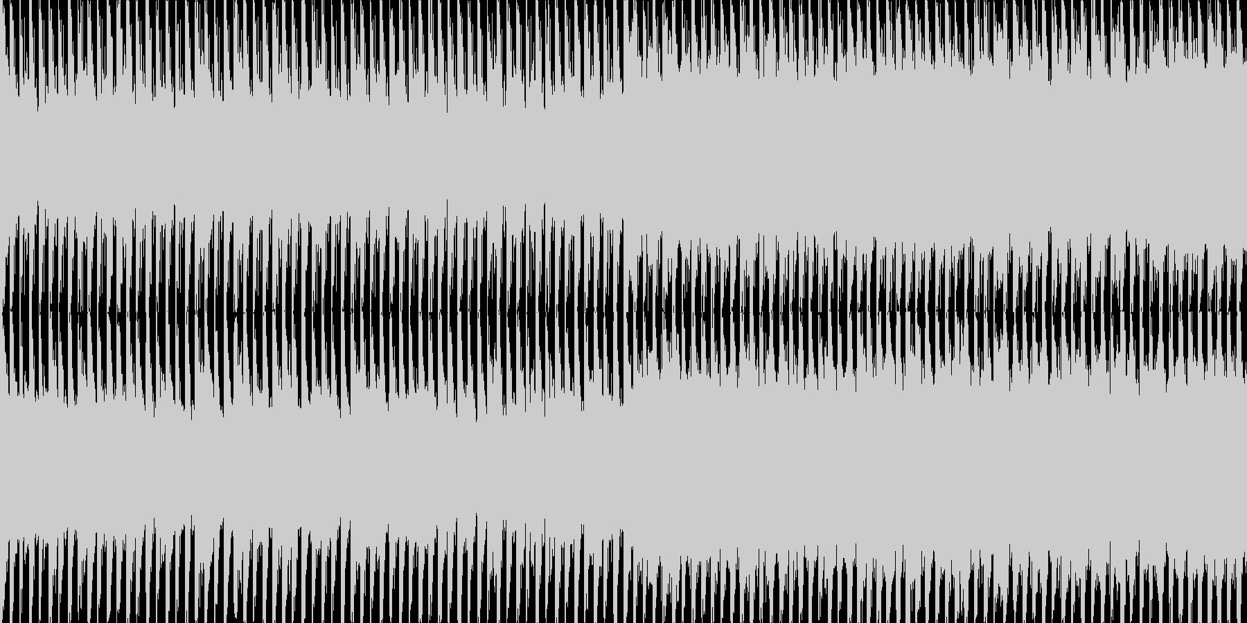 EDMクラブ系ダンスミュージック-127の未再生の波形