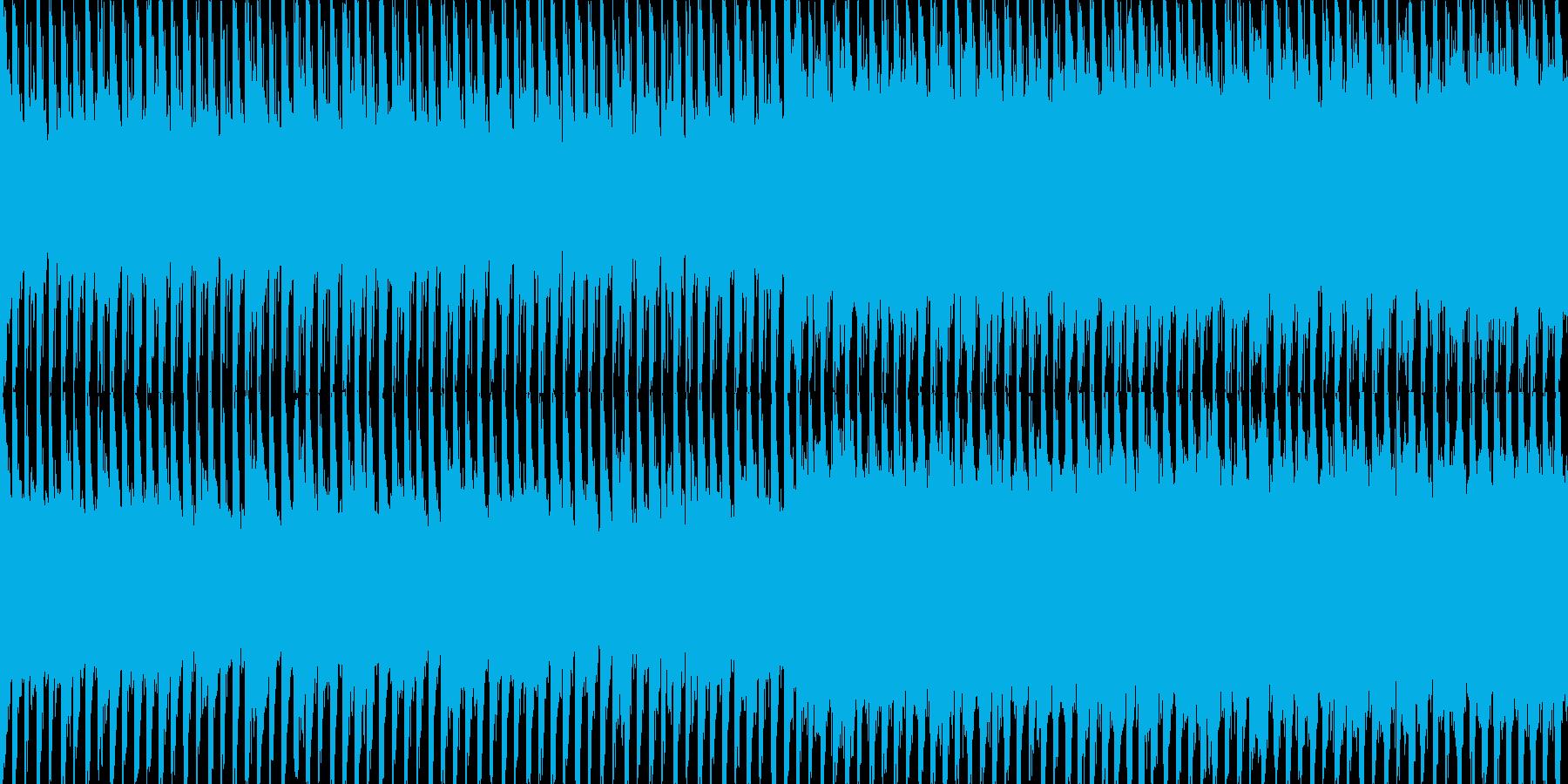 EDMクラブ系ダンスミュージック-127の再生済みの波形