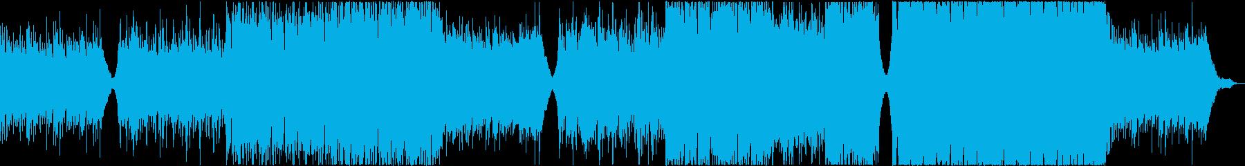 感動的でノスタルジックな切ない曲の再生済みの波形