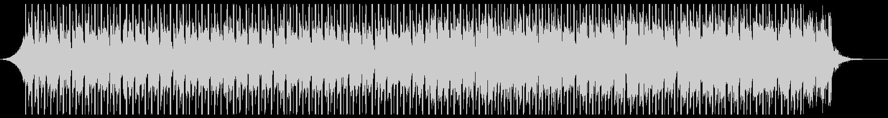 テクノロジーアップビート(60秒)の未再生の波形