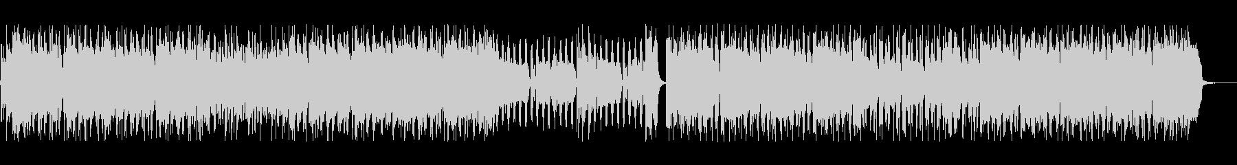 【音圧低】疾走感のあるパンクの未再生の波形