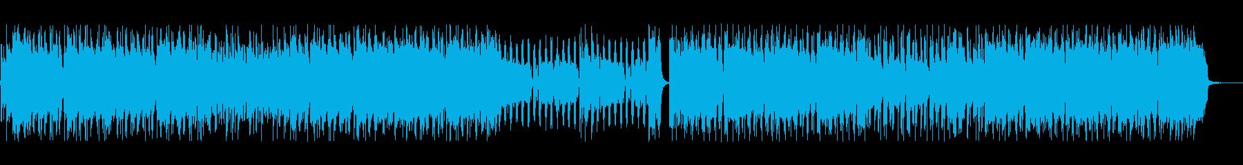 【音圧低】疾走感のあるパンクの再生済みの波形