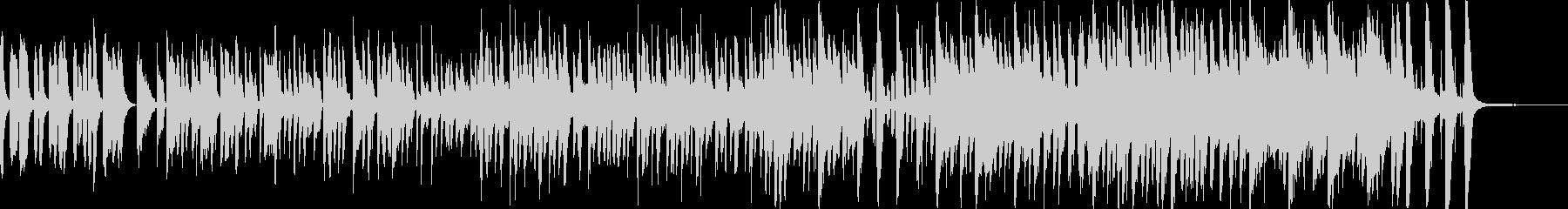 ポップでコミカルな日常曲の未再生の波形