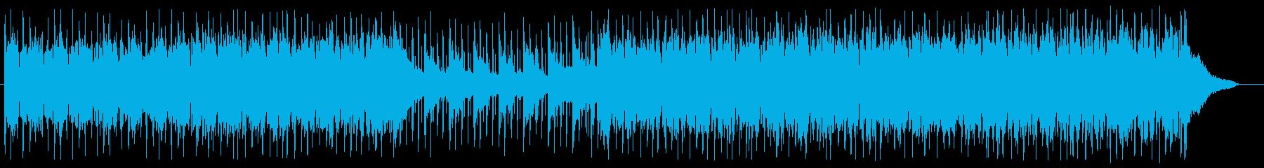 ワクワク 楽しい コミカル ギターポップの再生済みの波形