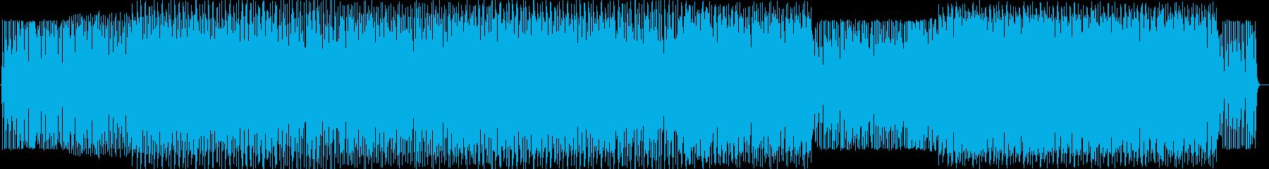 和風ポップインストルメントの再生済みの波形