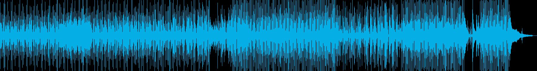 ウクレレのほのぼのするポップス cの再生済みの波形