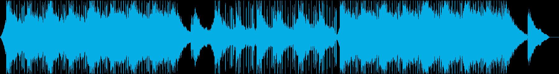 エレガントで滑らかでリラックスできる音楽の再生済みの波形