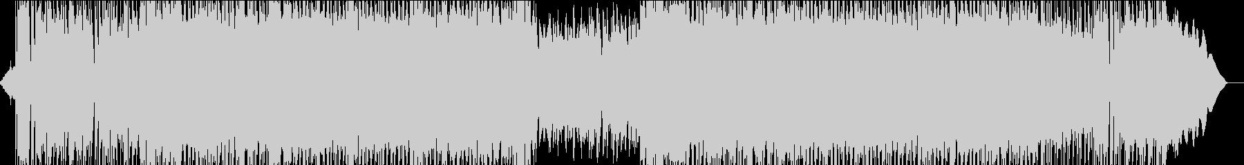 骨太ギターロック+シンセメロディの未再生の波形