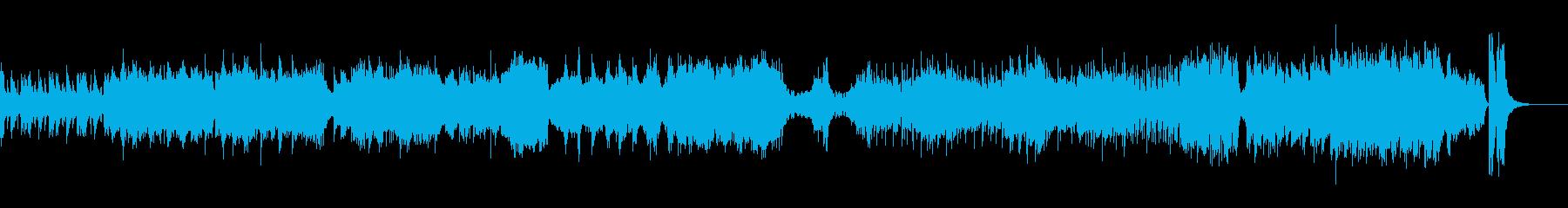 歴史を意識した和風オーケストラの再生済みの波形