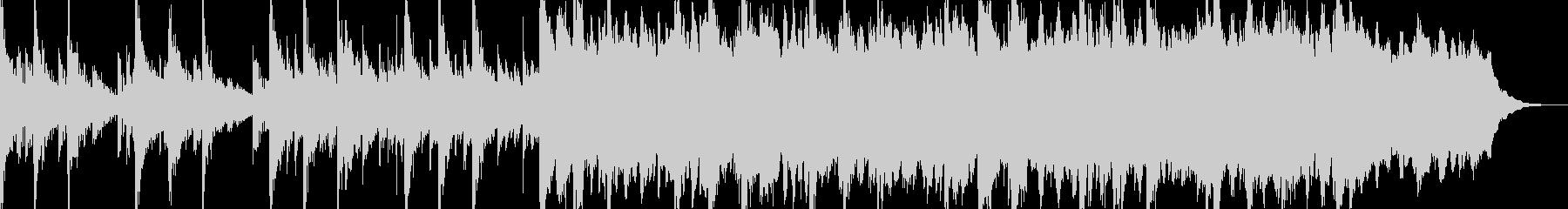 得体の知れない事が起きている時の曲の未再生の波形