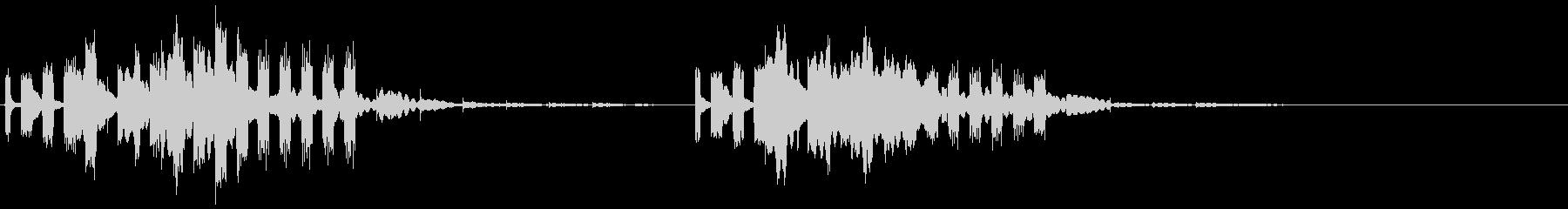 近未来的アラーム音2の未再生の波形