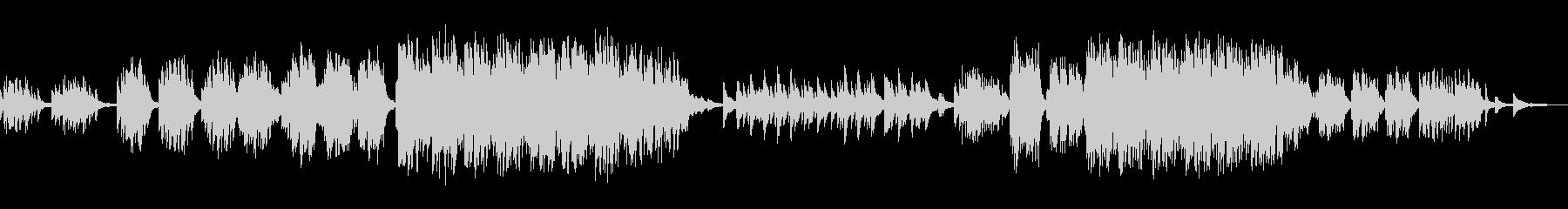 ピアノ ソロ バラードの未再生の波形