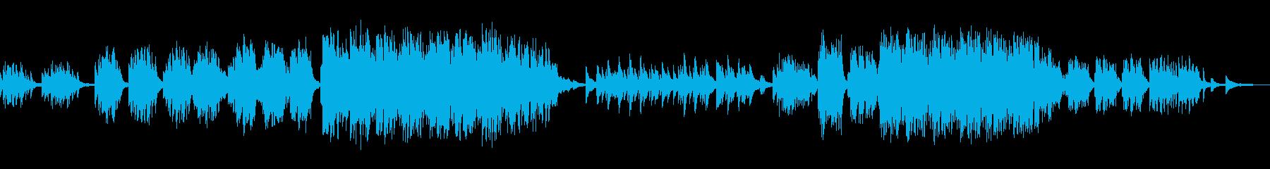 ピアノ ソロ バラードの再生済みの波形