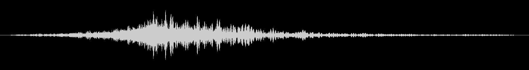 ドーン(映画CMでのタイトル表示音)の未再生の波形