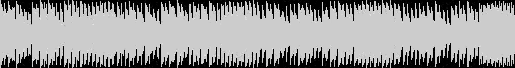 怒悲冷酷な旋律のループシンセピアノダンスの未再生の波形