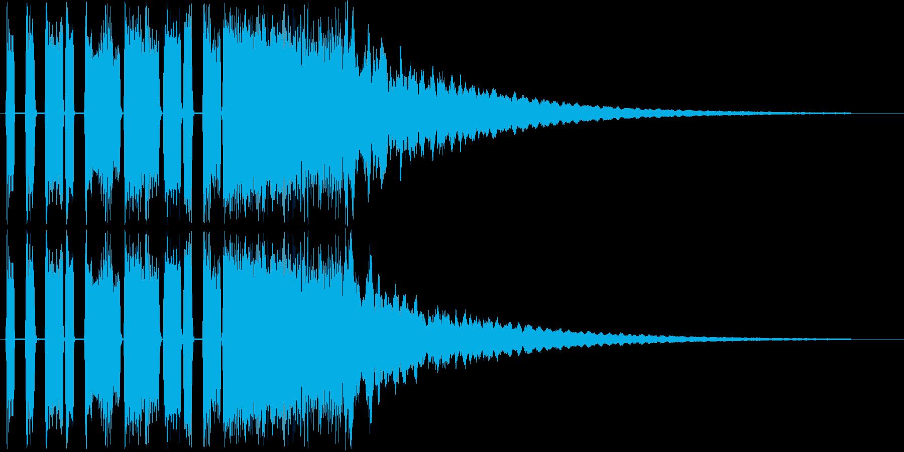 脱力感のあるシンセポップスの再生済みの波形