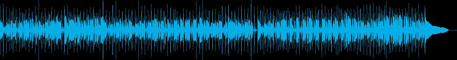 ファンキーなビートで刻む軽やかなベースの再生済みの波形