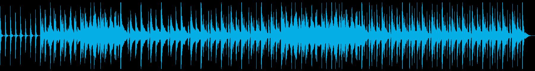【劇伴BGM】 日常、コミカル、ほんわかの再生済みの波形