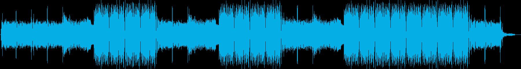 EDMクラブ系ダンスミュージック-09の再生済みの波形