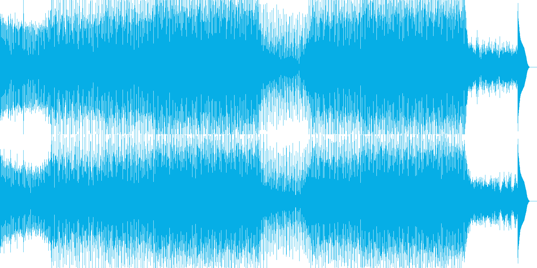 EDMポップで明るいクラブ系-21の再生済みの波形