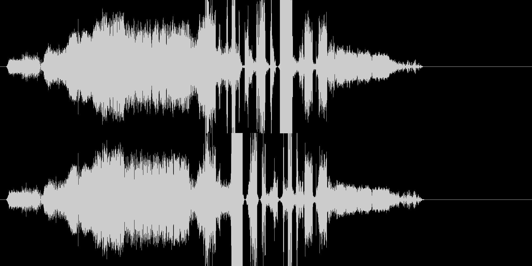 FMジングルキット 効果音の未再生の波形