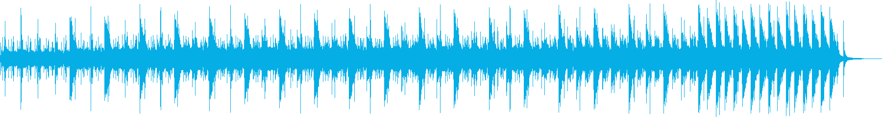 ピアノが響く背景として活躍できる音楽 の再生済みの波形
