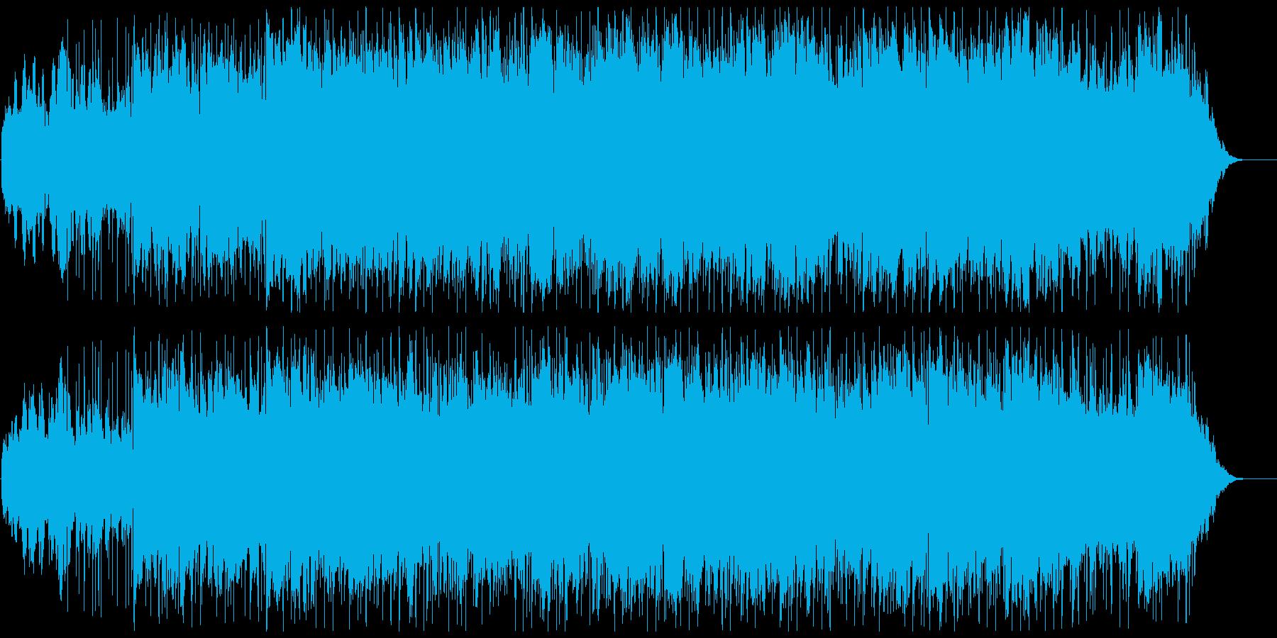 爽やかで安心感のあるサウンドの再生済みの波形