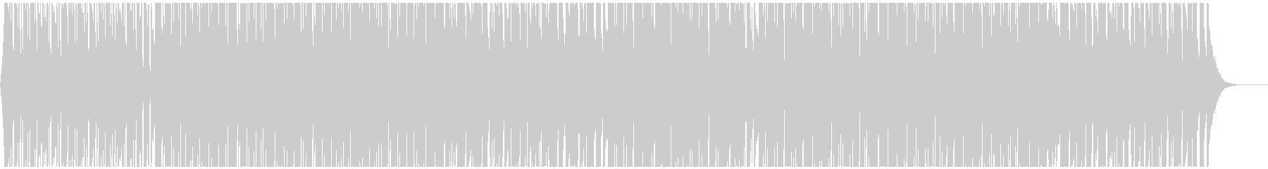 明るいリズミカルテクノポップ CM・映像の未再生の波形