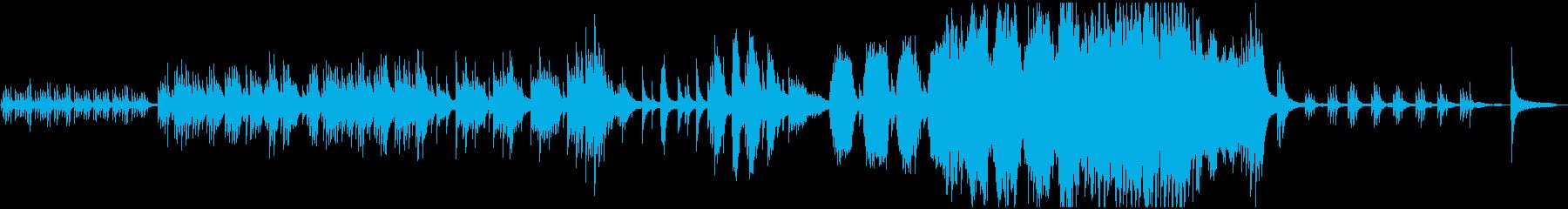 癒しのピアノソロ:光、神秘的、別れの再生済みの波形