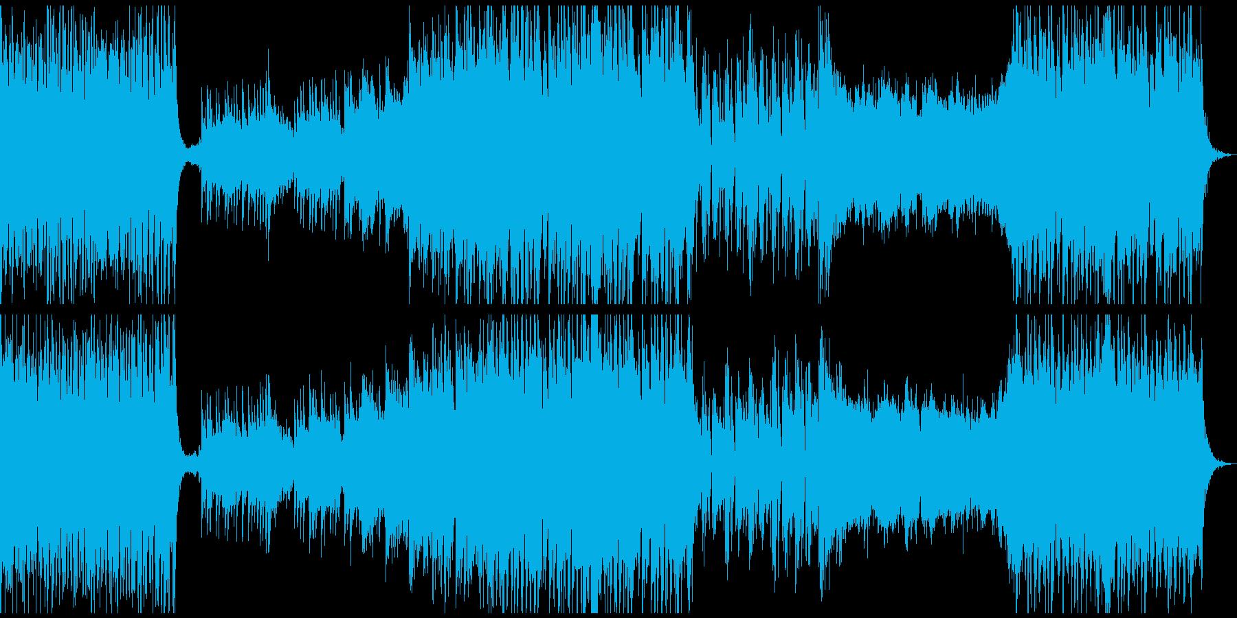オーケストラ/パワフル/迫力/力強いの再生済みの波形