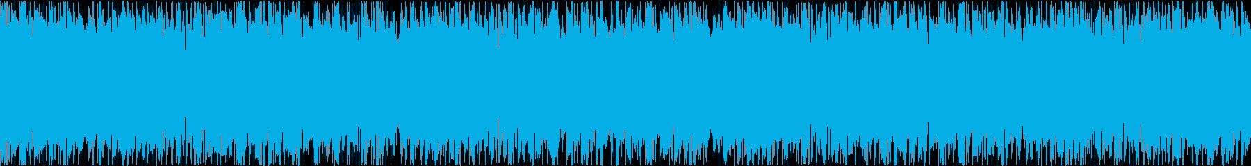 ポップで楽しいEDM(30秒ループ)の再生済みの波形