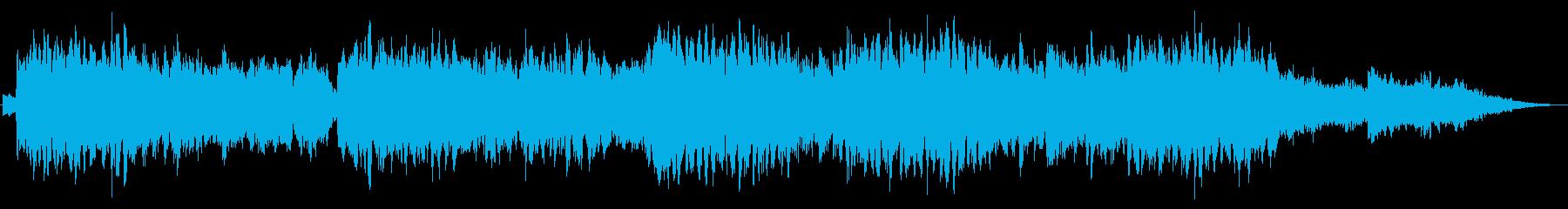 サティのジムノペディ_アンビエントArrの再生済みの波形
