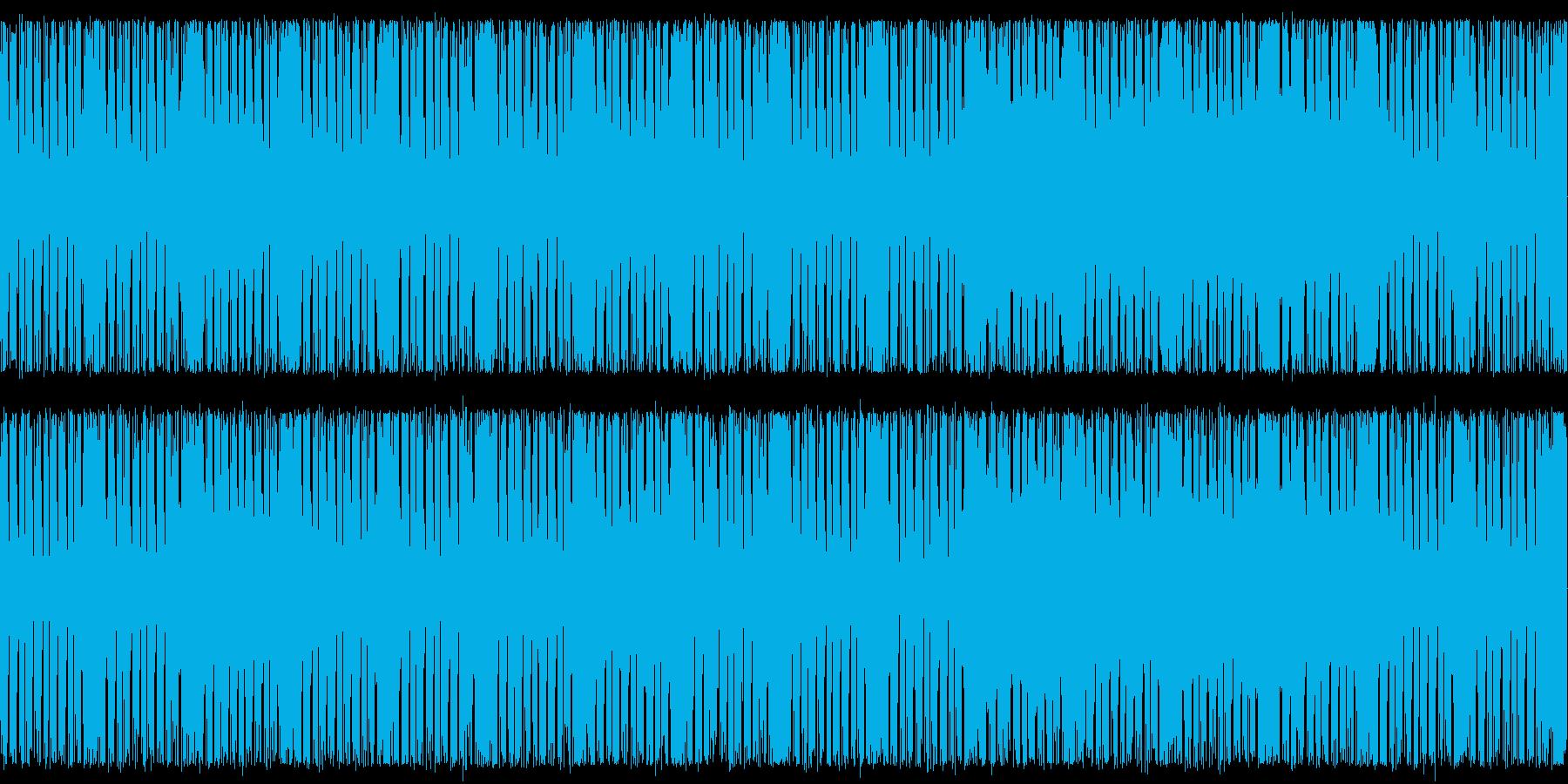 疾走感ある戦闘用BGMの再生済みの波形