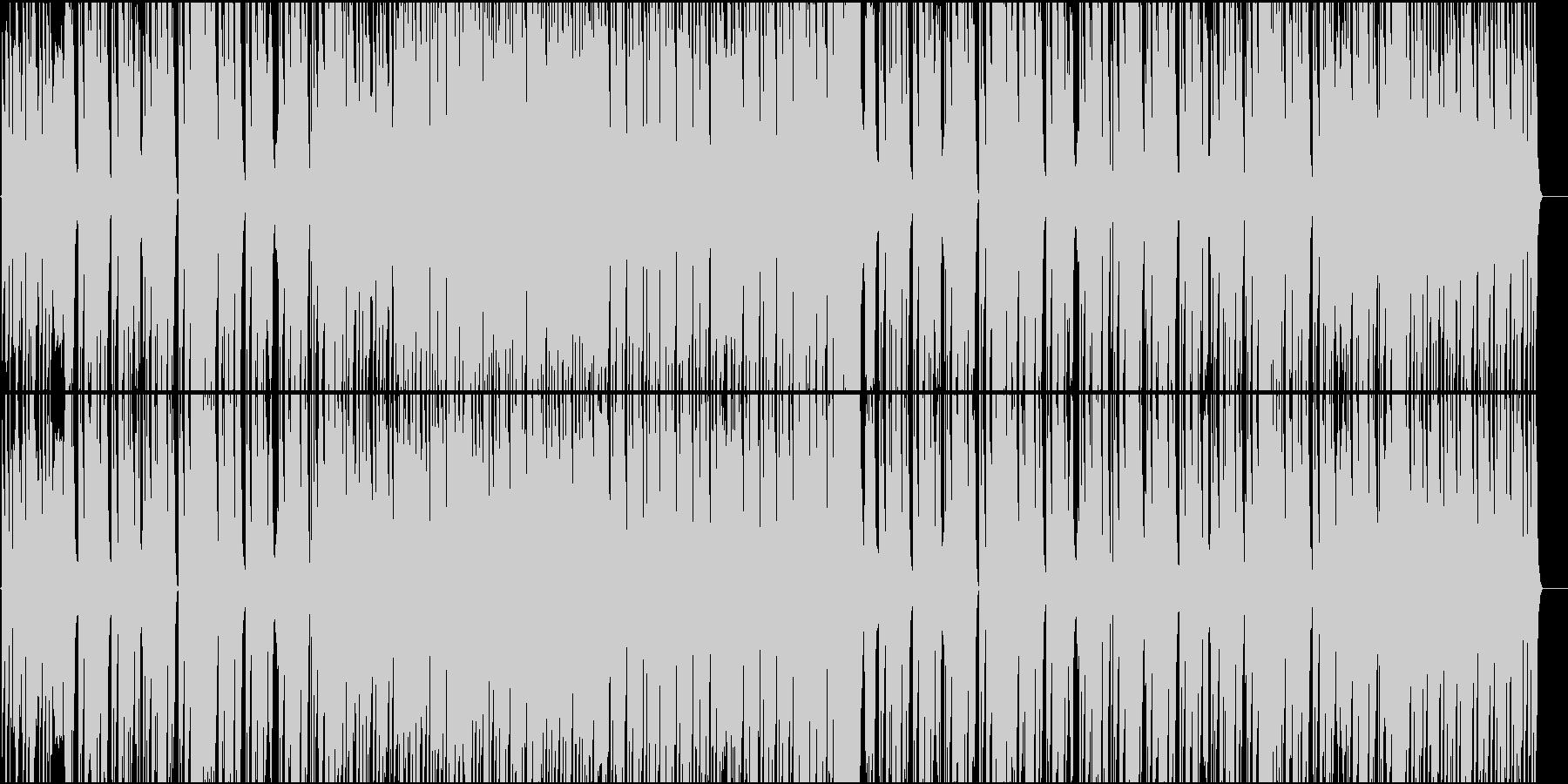 軽快なシンセとピアノのポジティブなEDMの未再生の波形